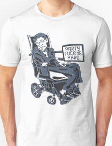Stephen Hawking Party Hard T-Shirt