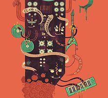 Power Trio by Hector Mansilla
