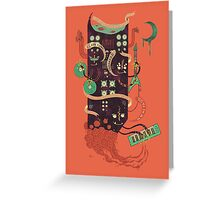 Power Trio Greeting Card
