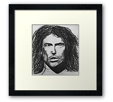 Everybody rock out!  Framed Print
