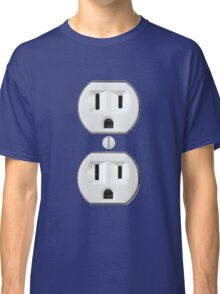 Electrical Outlet Costume Classic T-Shirt