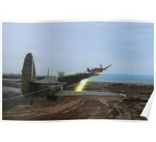 Hurricane Dogfight Poster