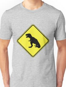 T-Rex Crossing Unisex T-Shirt