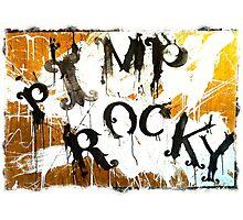 PIMP ROCKY logo - Paul Ryan & Niklas Henke Photographic Print