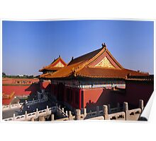 The Forbidden City, Beijing, China. Poster