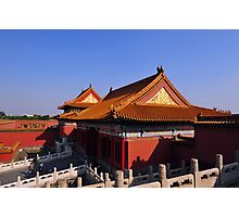 The Forbidden City, Beijing, China. Photographic Print
