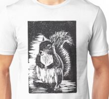 Squirrel: Ready for Winter Unisex T-Shirt