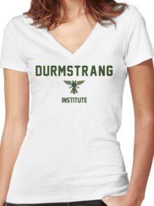 Durmstrang - Institute Women's Fitted V-Neck T-Shirt
