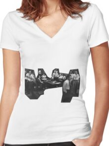 12 Angry Men (Twelve Angry Men) Women's Fitted V-Neck T-Shirt