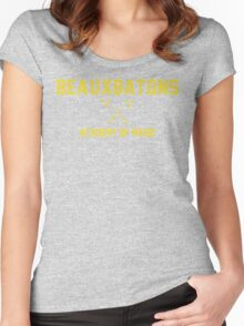 Beauxbatons - Magic Women's Fitted Scoop T-Shirt