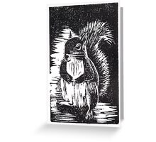 Squirrel: Ready for Winter Greeting Card