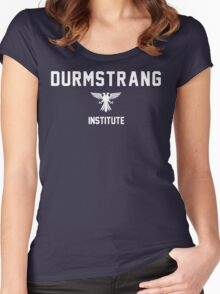 Durmstrang - Institute - White Women's Fitted Scoop T-Shirt