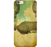 FLOATING WHALE iPhone Case/Skin