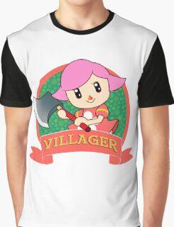 Animal Crossing: Girl Villager Graphic T-Shirt
