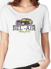 BEL AIR HERMES INSPIRED GRAPHIC W/FRESH PRINCE TWIST Women's Relaxed Fit T-Shirt