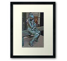Montreal Street Sculpture Framed Print