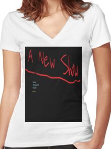 A New Show - T-Shirt Women's Fitted V-Neck T-Shirt
