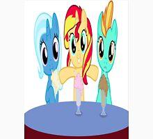 Sunset Shimmer, Trixie, and Lightning Dust's Malty Mayhem  Unisex T-Shirt
