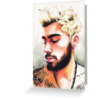 Zayn-selfie #1 Greeting Card