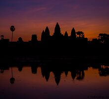 Angkor Wat at dawn- 1 by vishwadeep  anshu