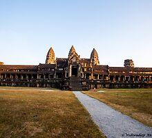 Angkor Wat - 3 by vishwadeep  anshu
