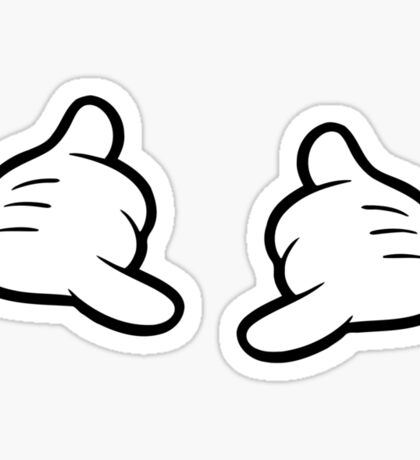 Shaka Pose Sticker