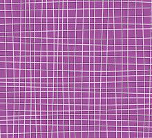 Purple Crosshatch by kwg2200