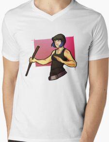 More Mori Mens V-Neck T-Shirt