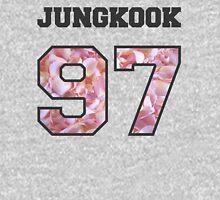 BTS- JUNGKOOK 97 Line Flower Design Women's Relaxed Fit T-Shirt