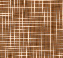 Brown Crosshatch by kwg2200