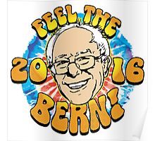 Feel The Bern Election 2016 Poster