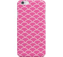 Pink Fish Scales iPhone Case/Skin