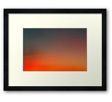 hollywood sunset - 1 Framed Print