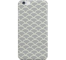 Grey Fish Scales iPhone Case/Skin