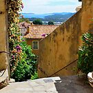 Bormes le Mimosas at the mediterranean sea, cote azur, France by 7horses
