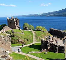 Urquhart Castle - Loch Ness by rsangsterkelly