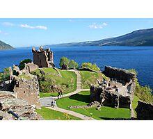 Urquhart Castle - Loch Ness Photographic Print