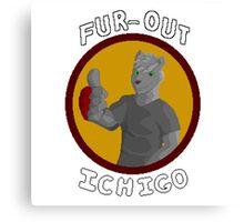 Ichigo FUR-OUT Canvas Print