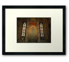 DUOMO DI PARMA INTERNI  1  italy. Mondo- per tutte le mie amiche o amici che amano Gesù.Cristo  - vetrina rb explore 11 novembre 2013      .. Framed Print