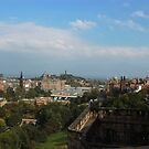 Edinburgh - Castle View  by rsangsterkelly