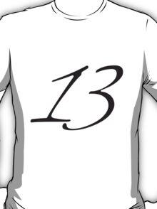 Number 13 Design T-Shirt