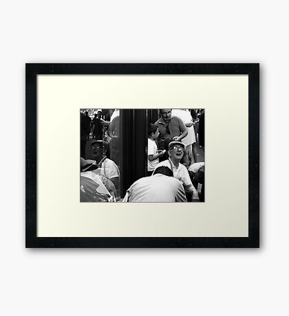 They Came ..... Framed Print