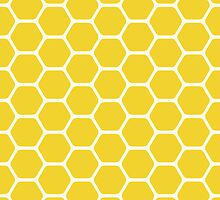 Yellow Honeycomb by kwg2200