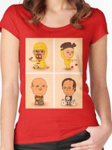 BReaking CUte Women's Fitted Scoop T-Shirt