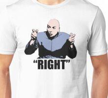 Dr. Evil  Right  Austin Powers Tshirt Unisex T-Shirt