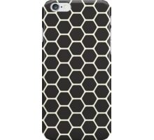 Black Honeycomb iPhone Case/Skin