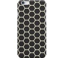 Black Honeycomb iPhone Case/Skin