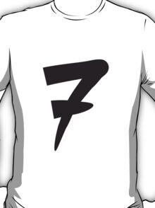 Number 7 Design T-Shirt