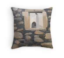 Celtic Cross from Dunstaffnage Throw Pillow