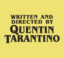 Written and Directed by Quentin Tarantino (dark) by Frans Hoorn